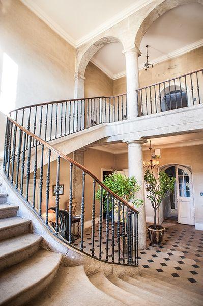 Domaine de Chassagny - Escalier d'Honneur