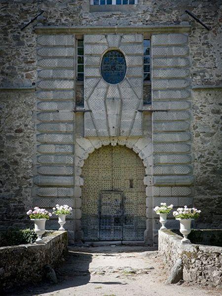 Domaine de Chassagny - Portail d'Entrée
