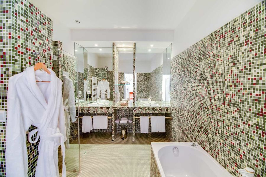 Manoir de la Roseraie - Salle de bain