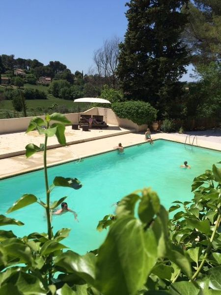 Domaine & Cie - Vue piscine