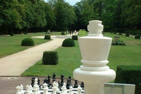 Orangerie de Sébastien - Jeu d'échecs géant