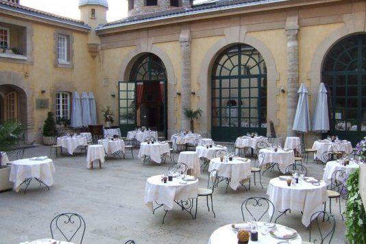 Orangerie de Sébastien - Terrasse de l'Orangerie