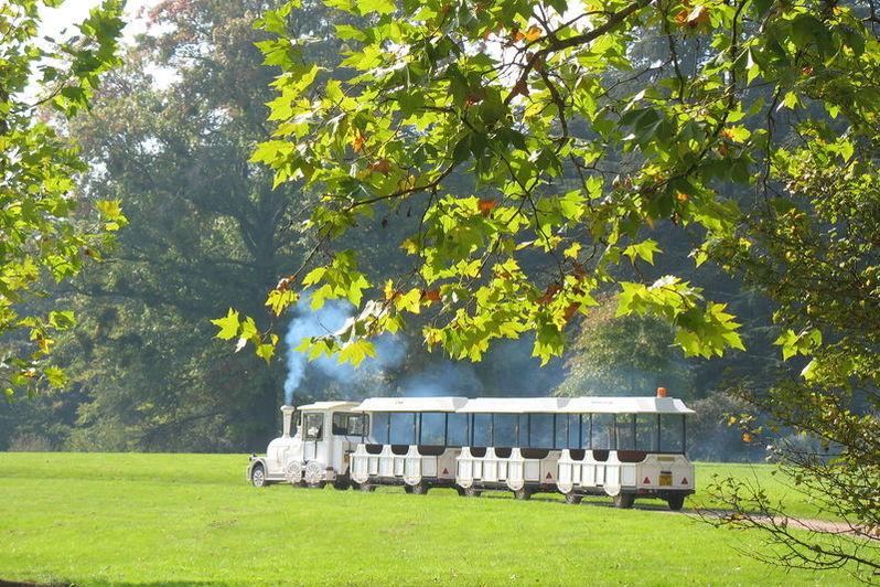 Orangerie de Sébastien - Petit train du Parc de Lacroix Laval 2