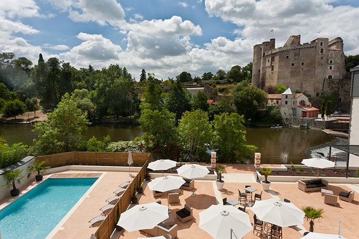 Villa Saint Antoine - Vue des chambres 2