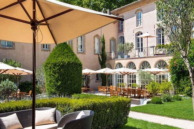 Chateau de Massillan - Jardin & terrasse