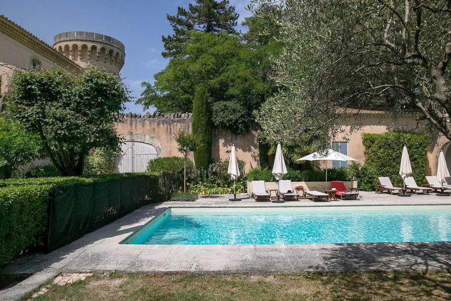 Chateau de Massillan - Piscine 1