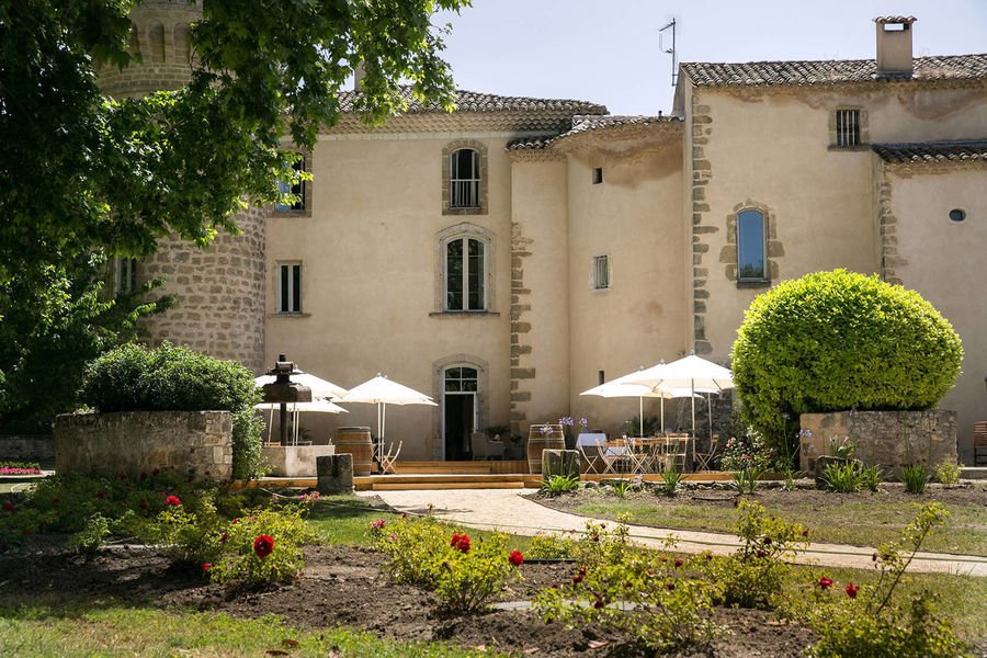 Chateau de Massillan - Terrasse