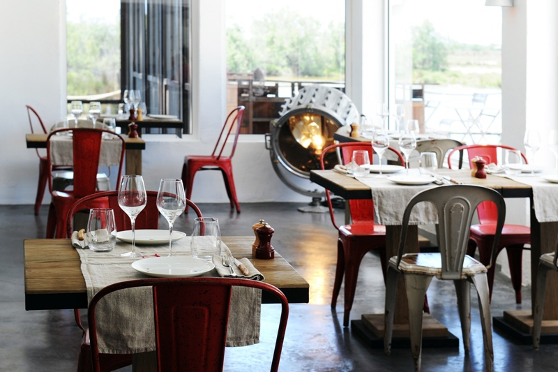 Mas de la Fouque - Restaurant 1