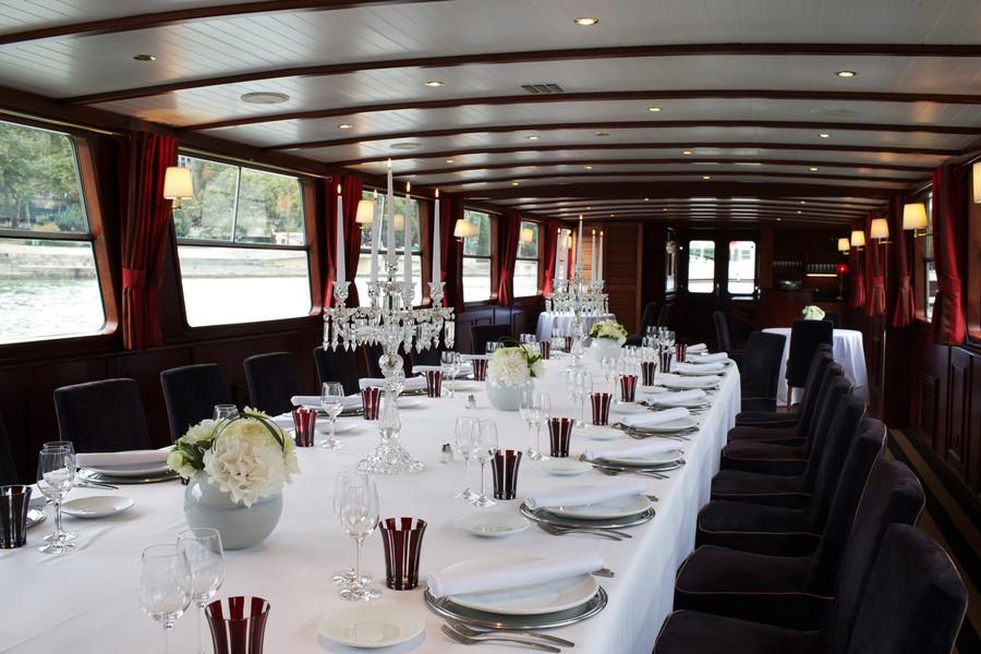 Yachts de Paris Acajou - Salle de réception 1