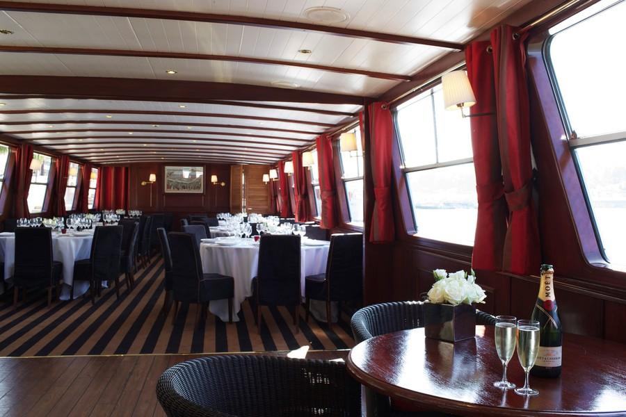 Yachts de Paris Acajou - Salle de réception 2