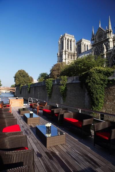 Yachts de Paris Acajou - Terrasse