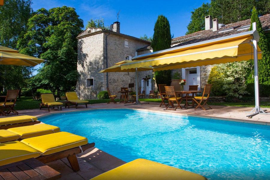 Campagne Saint Lazare - Terrasse & piscine