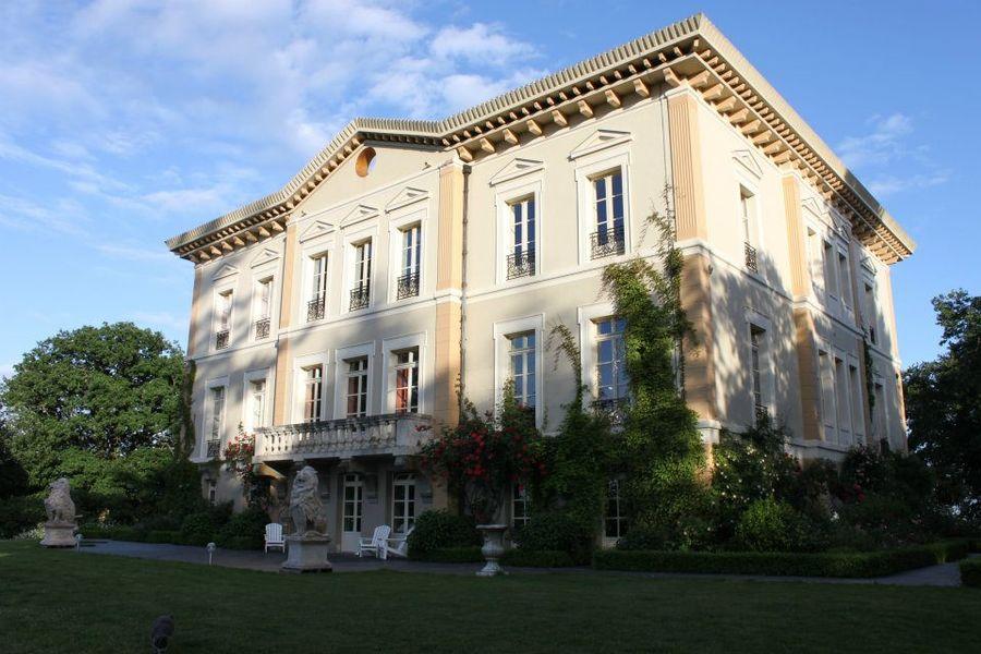 Château de Bézyl - Vue arrière