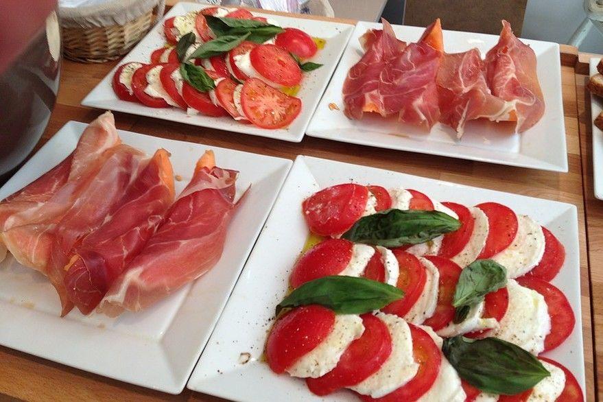 Restaurant 9ème ciel - Buffet italien 2