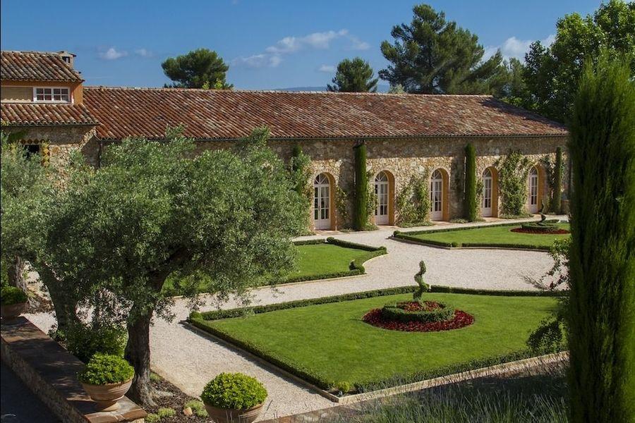 Chateau Font de Broc - Jardin à la Française