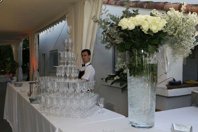 Mas du menage Manade Saint Antoine - Cocktail devant les arènes 2