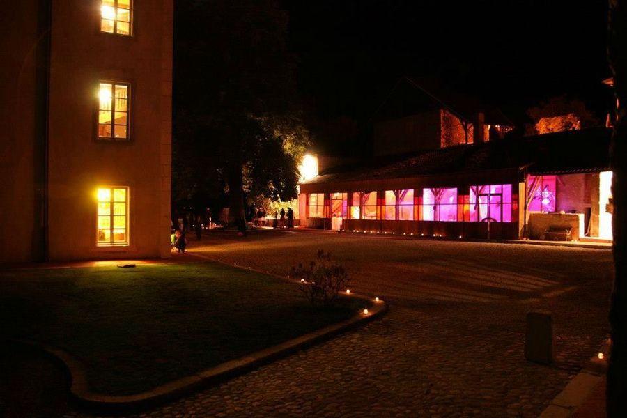 Chateau du Montalieu - De nuit