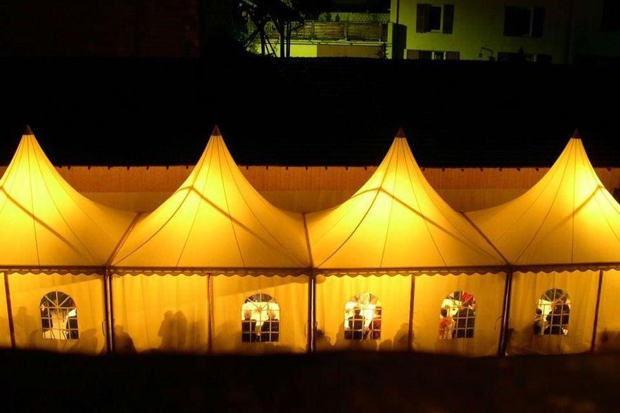 Chateau du Montalieu - Tente de nuit