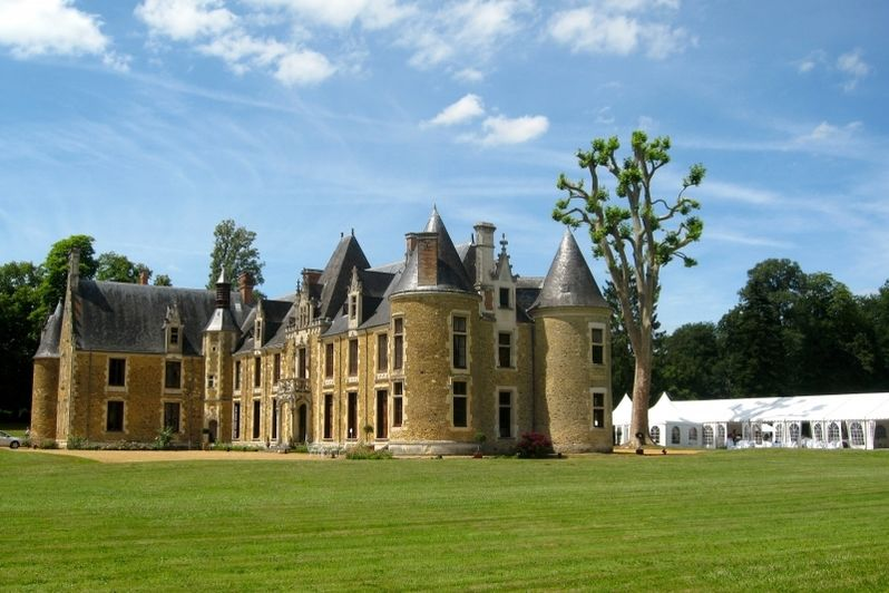 Château de Chéronne - Vue extérieure