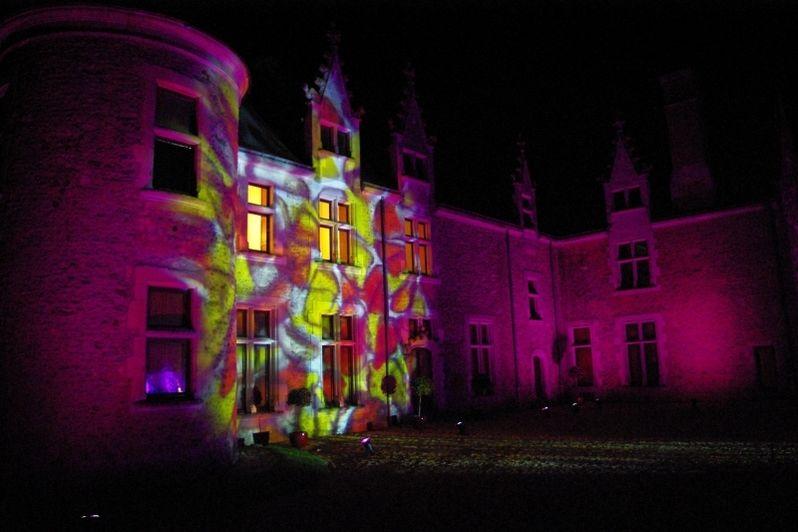 Château de Chéronne - Le château de nuit 3