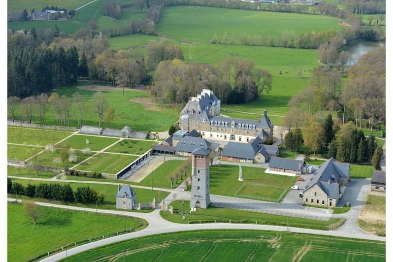 Château des Pères - Vue aérienne