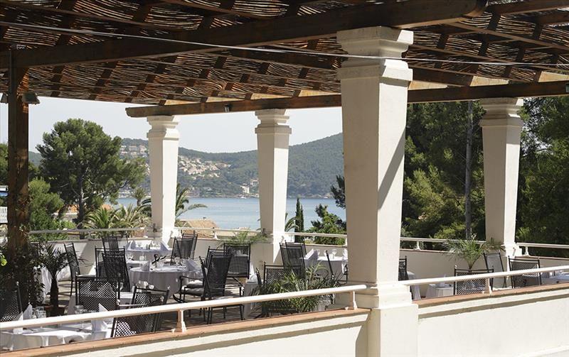 Grand Hotel Les Lecques - Terrasse