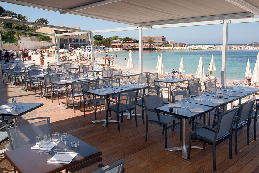 Hotel Ile Rousse - Terrasse & Restaurant (1)