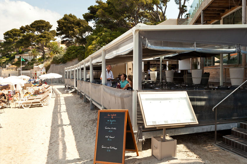 Hotel Ile Rousse - Terrasse & Restaurant (2)