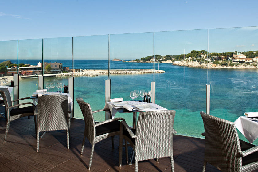 Hotel Ile Rousse - Terrasse & Restaurant (3)