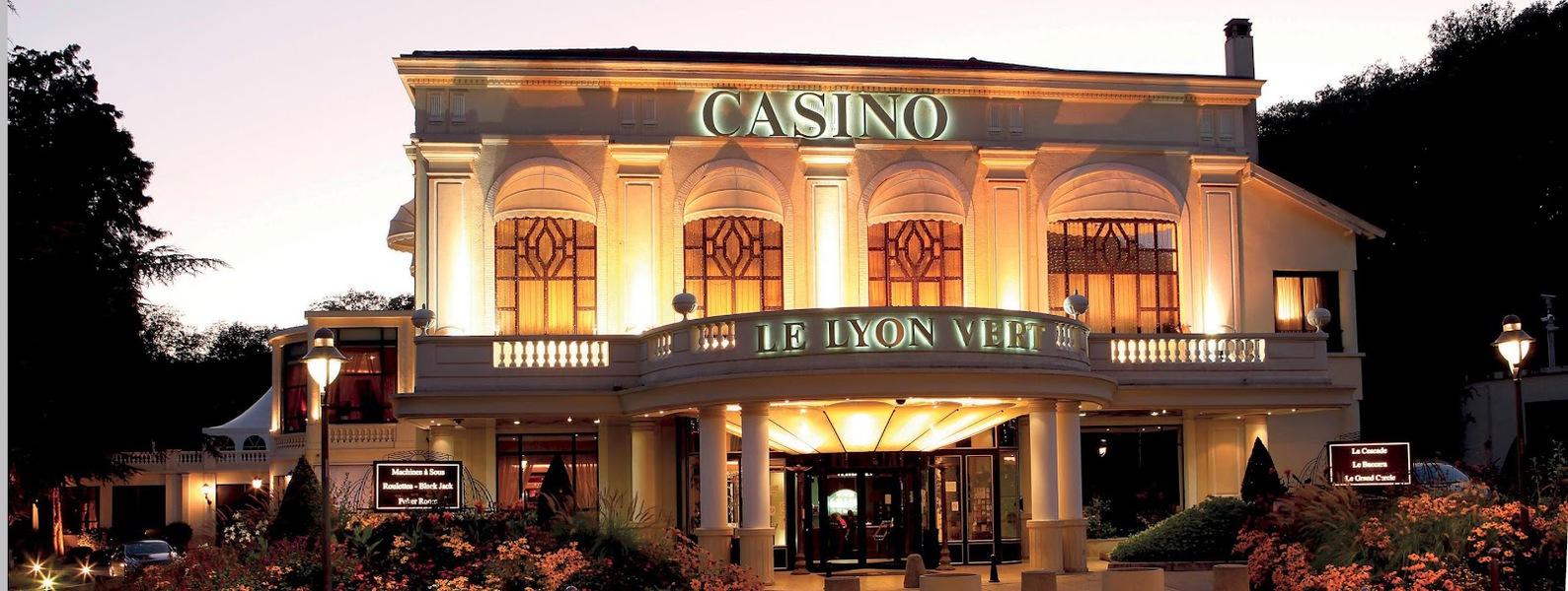 Domaine Casino Le Lyon Vert - Entrée du Casino Le Lyon Vert