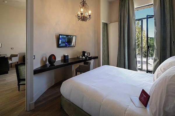 Les Lodges Saint Victoire hotel spa - Chambre (3)