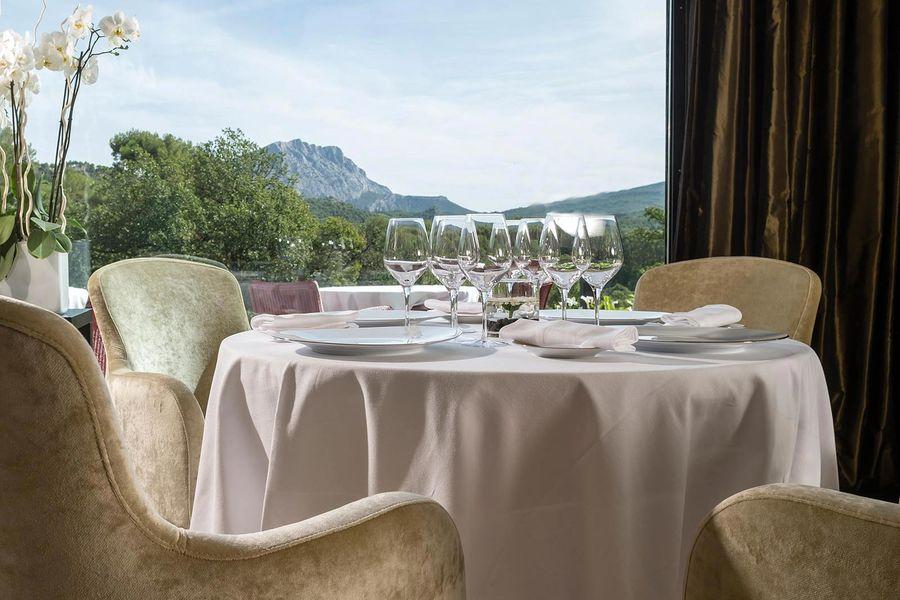 Les Lodges Saint Victoire hotel spa - Restaurant (1)
