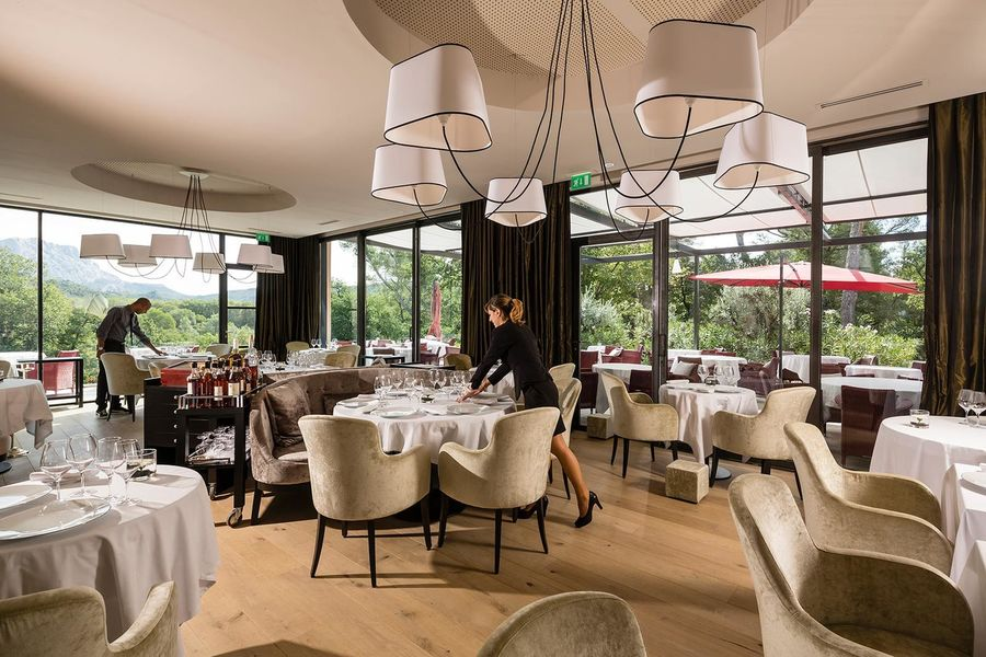 Les Lodges Saint Victoire hotel spa - Restaurant (3)