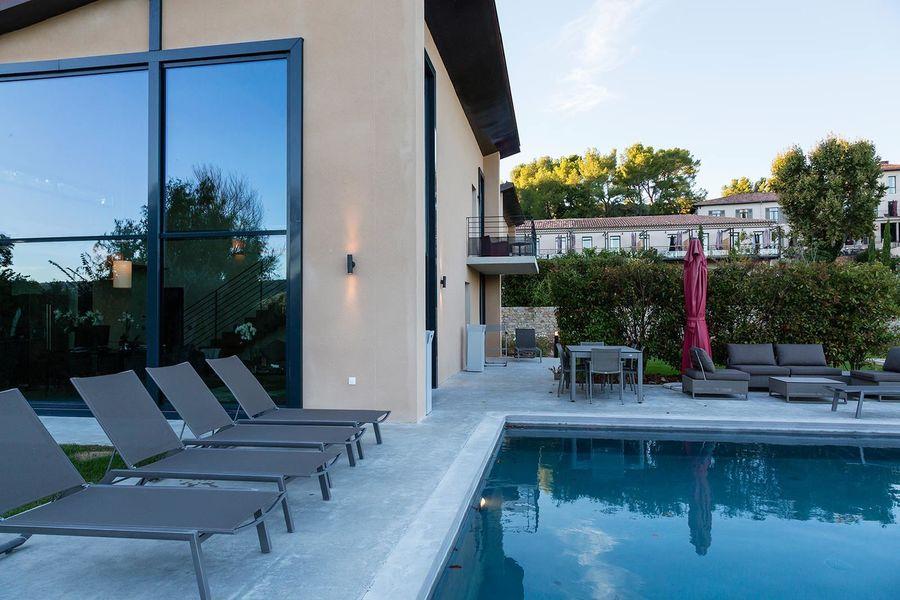 Les Lodges Saint Victoire hotel spa - Villa (1)