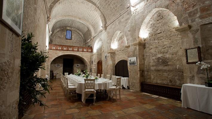 Abbaye de Sainte Croix - Salle de réception