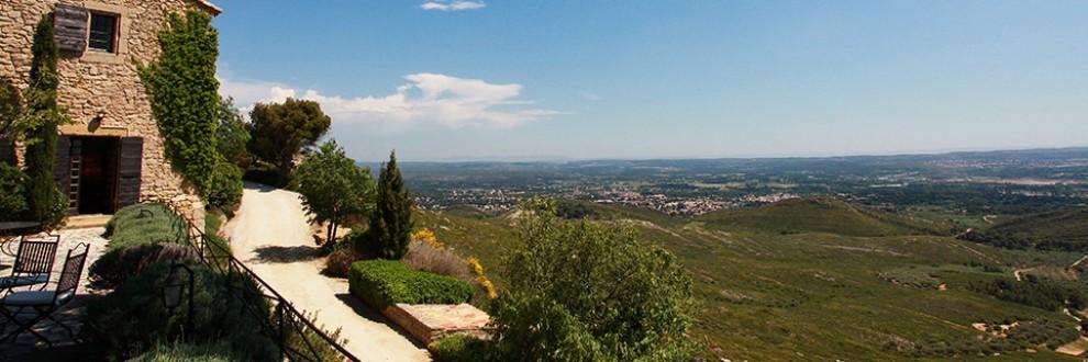 Abbaye de Sainte Croix - Vue panoramique