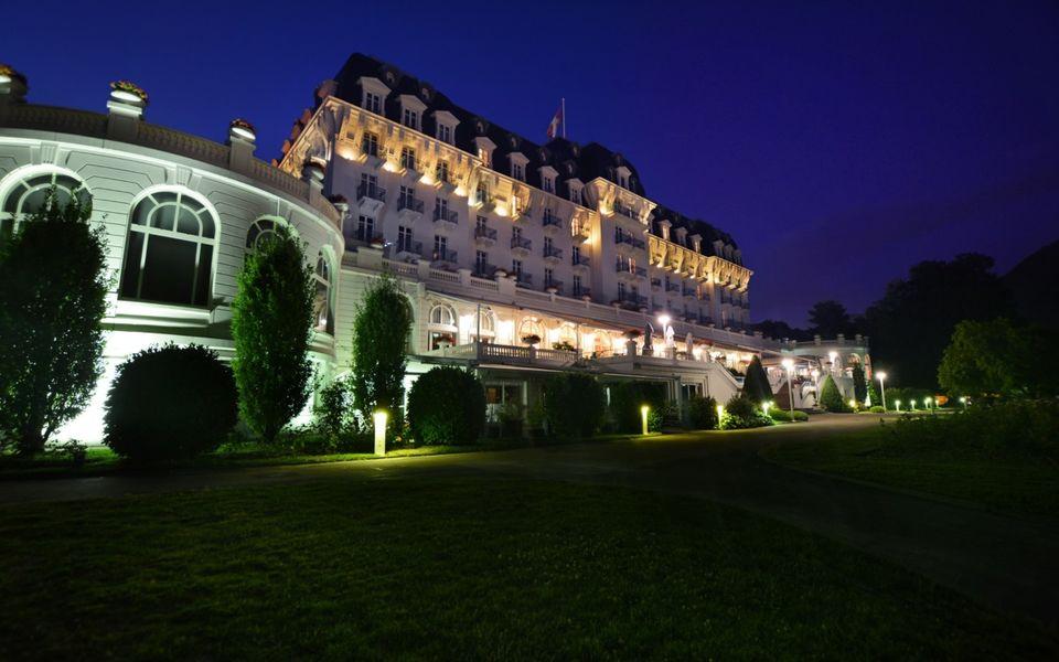Imperial Palace Annecy - Hôtel Impérial Palace Annecy de nuit