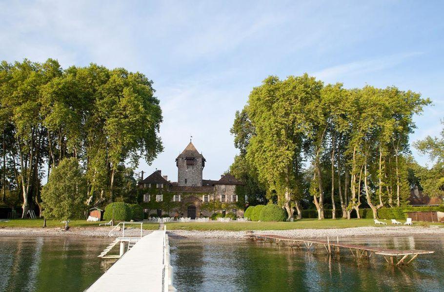 Chateau de Coudree - Ponton du château