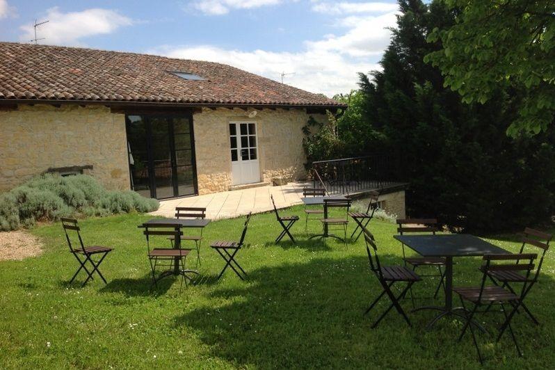 Domaine Albert - Salon de jardin