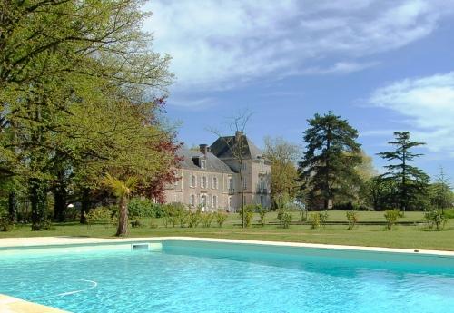 Château de Cop Choux - La piscine