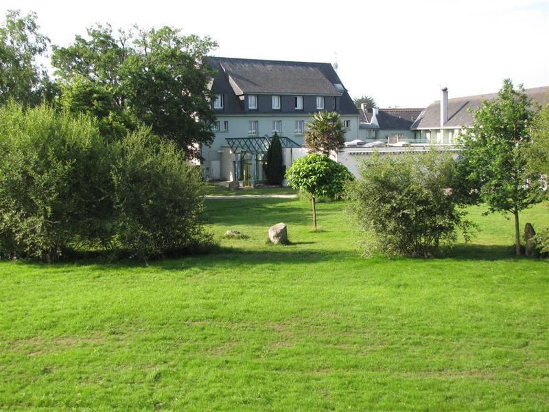 Breizh Hôtel - Vue du parc