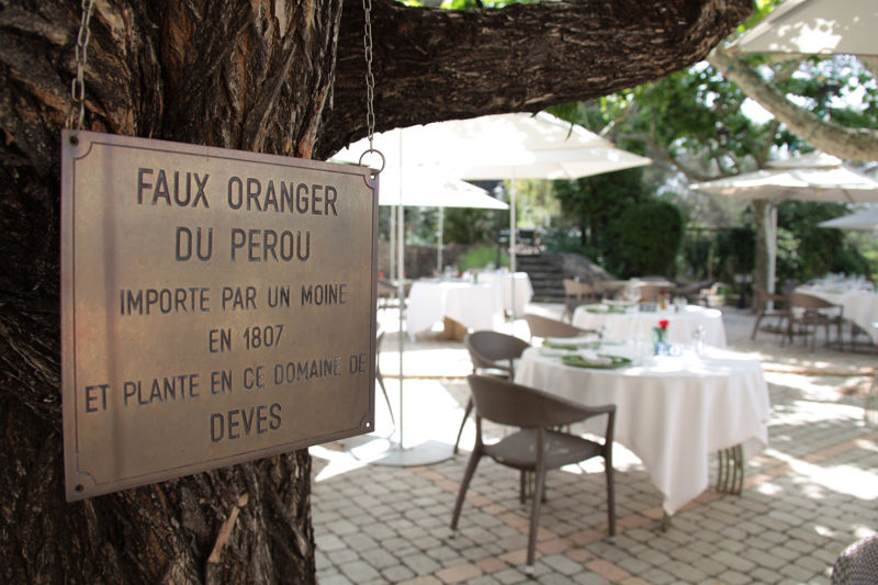Auberge de noves hotel - Terrasse & Jardin (2)