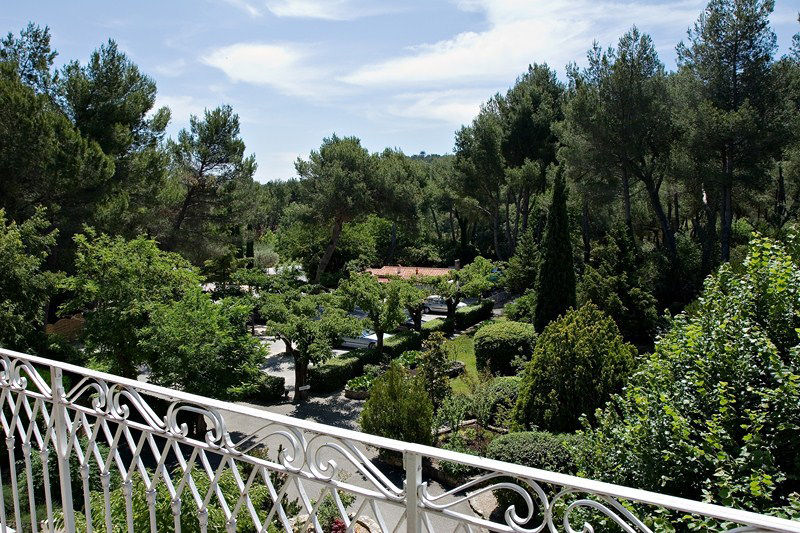 Auberge de noves hotel - Terrasse & Jardin (9)