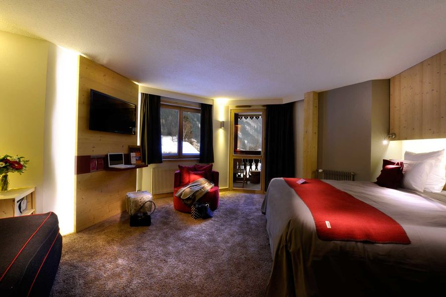 Mercure Chamonix Centre - Chambre (4)