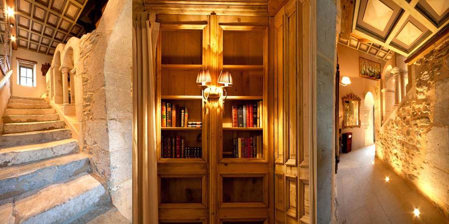 Chateau des Girards - Bibliothèque
