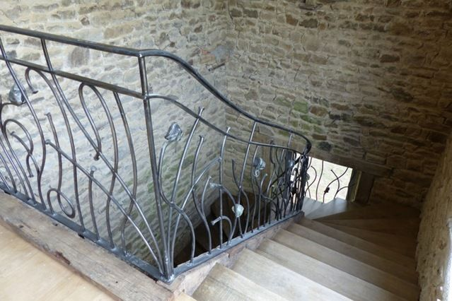 Domaine de la Haye d'Irée - Les escaliers