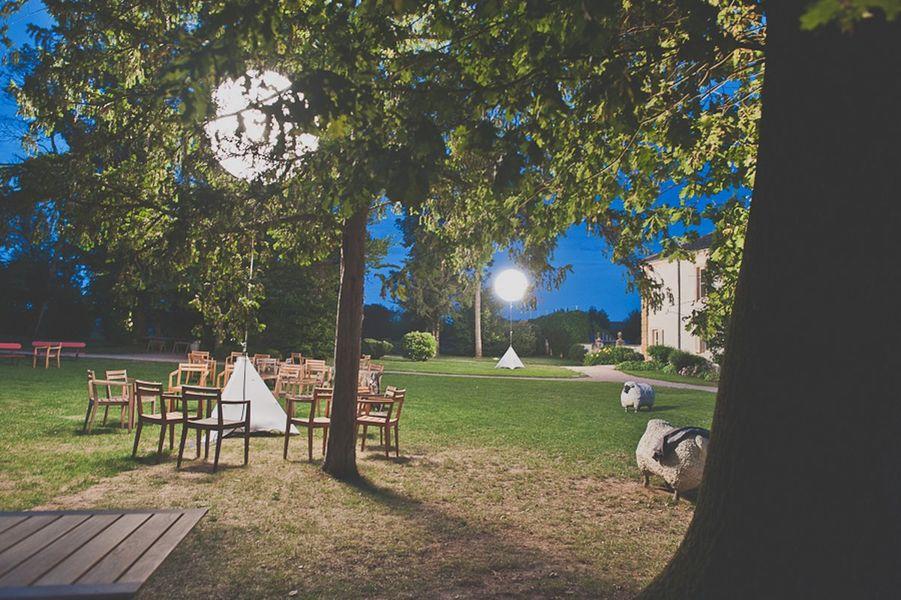 Chateau des Broyers - Le Château de nuit
