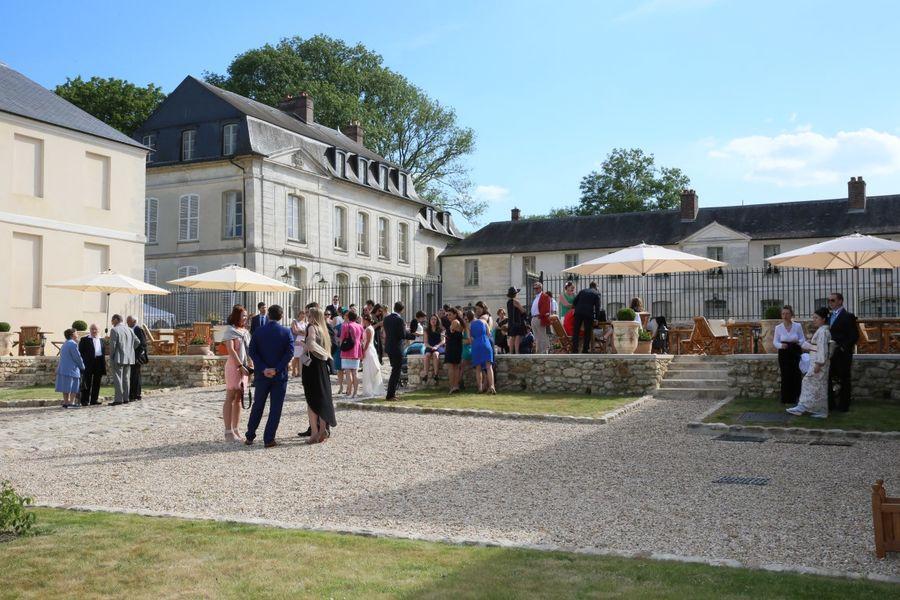 Château de Maudetour - Espace extérieur