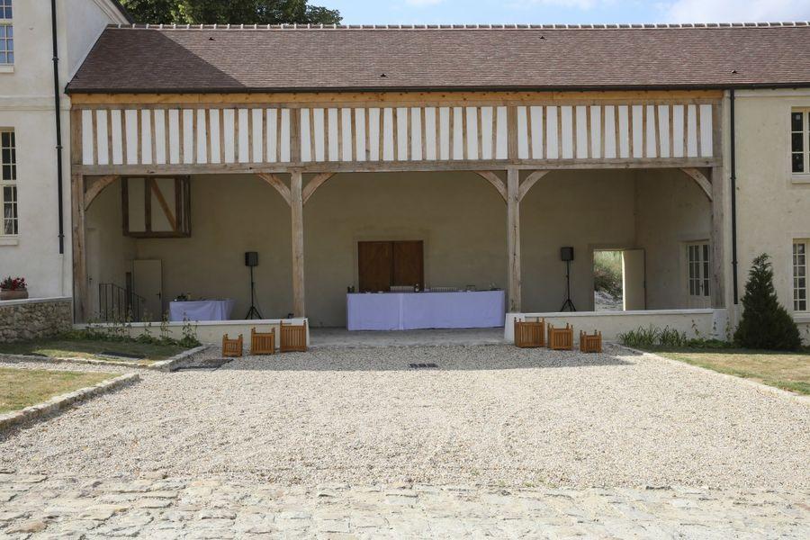 Château de Maudetour - Patio