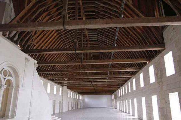 Abbaye Royale de Fontevraud - Le Grand Dortoir